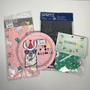 Spritz Lot Of Party / Birthday Supplies LLAMA